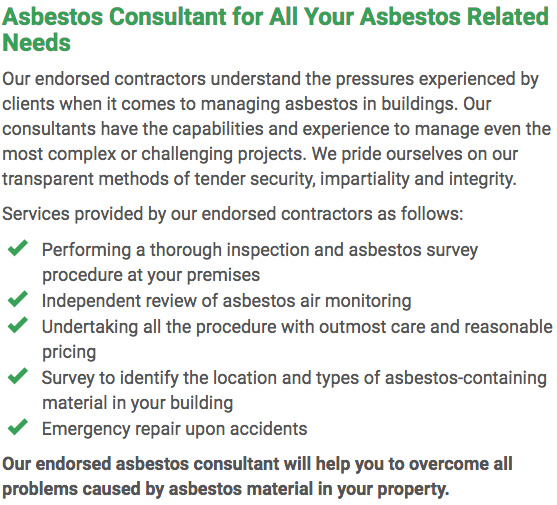 Asbestos Watch Gladstone - consultant right