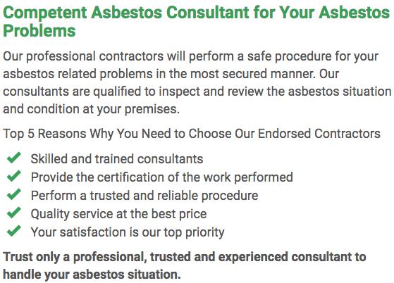 Asbestos Watch Gladstone - consultan left